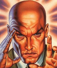Professor Xavier applies his innate talent for MVPA.