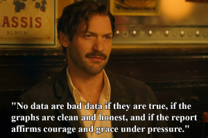 Hemingway's thoughts on data.